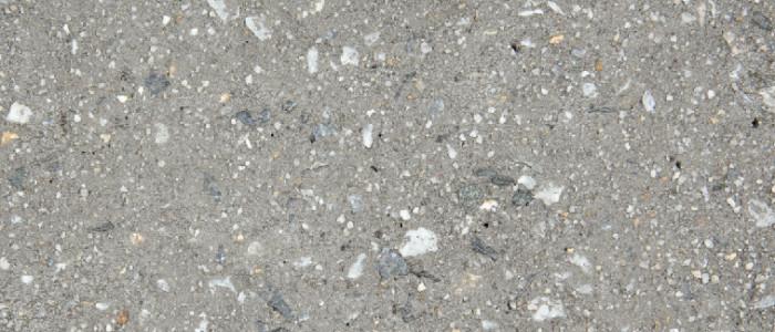 Exposed aggregate concrete blade