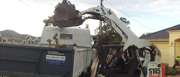 Excavation for quality concrete site preparations