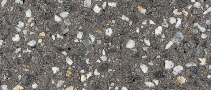 Exposed aggregate concrete fusion