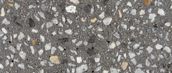 Exposed aggregate concrete galaxy