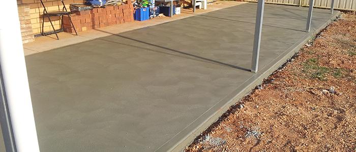 Plain concrete paths for all of south australia