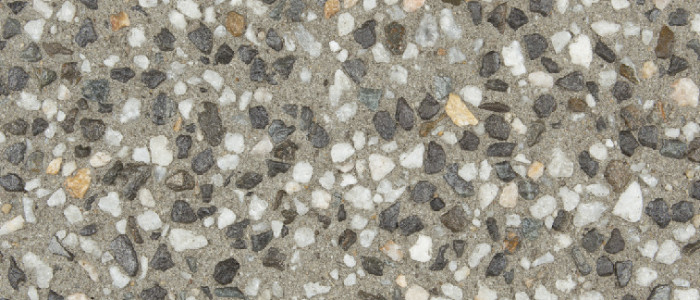 exposed aggregate concrete spice