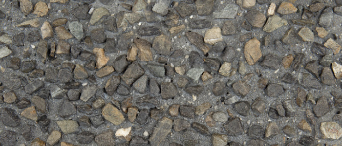 exposed aggregate concrete thunder