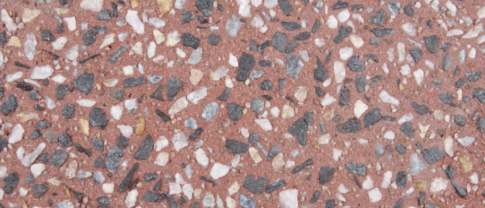 exposed aggregate concrete valencia