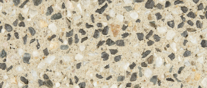 exposed aggregate concrete vanilla spice