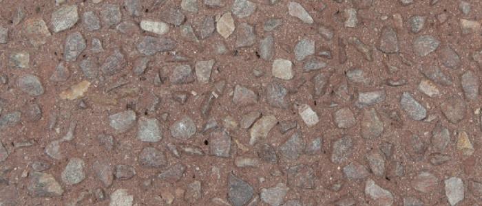 exposed aggregate concrete vino