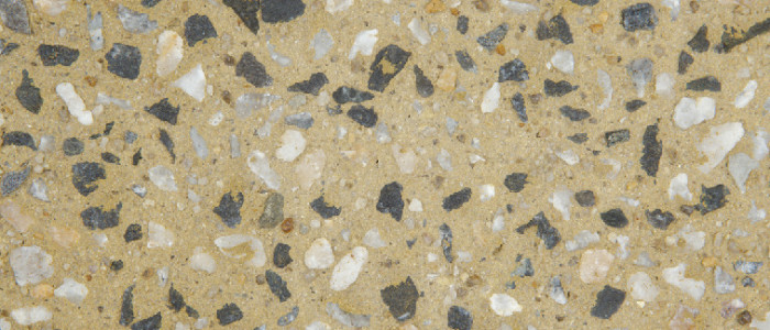 exposed aggregate concrete yellowstone